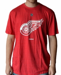 NHL Triko Reebok  Detroit Red Wings Logo Triblend