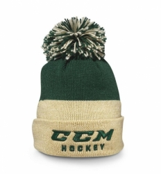 Kulich CCM True2Hockey Knit Pom Zelená