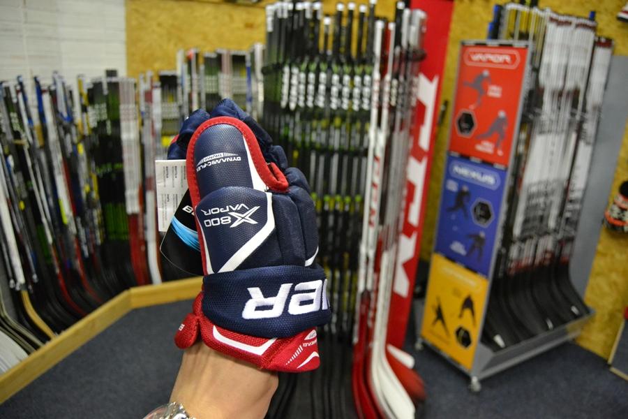 Hokejové rukavice Bauer Vapor X800 Jr 3720a75cd9
