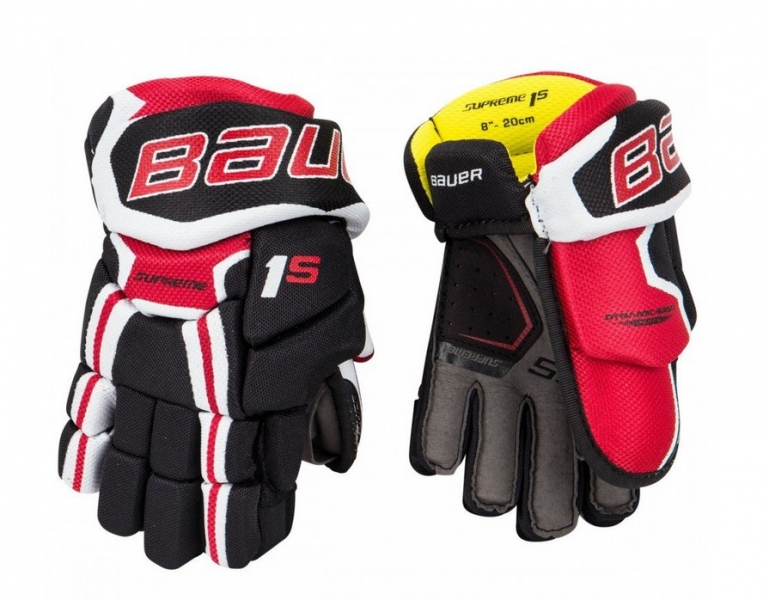 Hokejové rukavice Bauer Supreme 1S Yth 620d3b1579