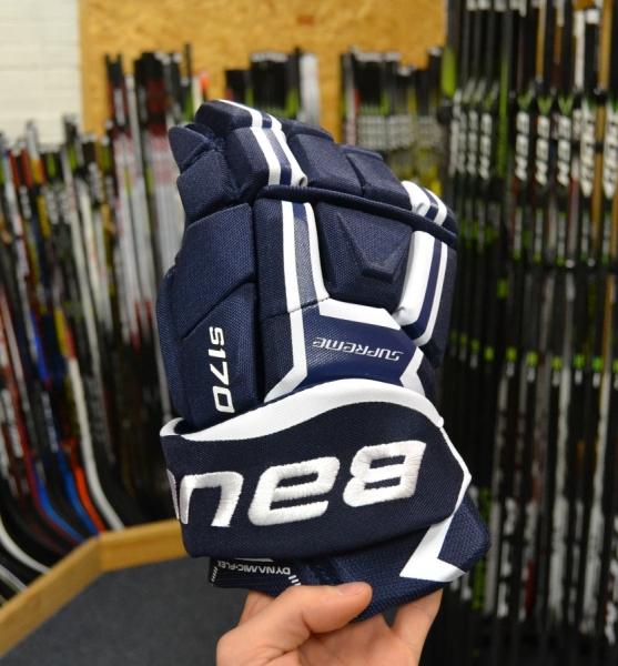 Hokejové rukavice Bauer Supreme S170 JR 60e9f616ef